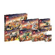 Lego Complete Mars Mission Collection